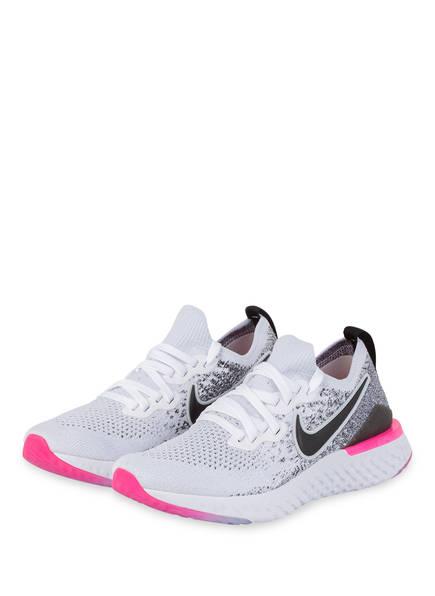 Nike Laufschuhe EPIC REACT FLYKNIT 2, Farbe: WEISS/ PINK (Bild 1)