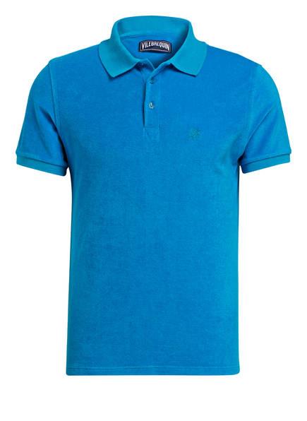 VILEBREQUIN Frottee-Poloshirt, Farbe: BLAU (Bild 1)