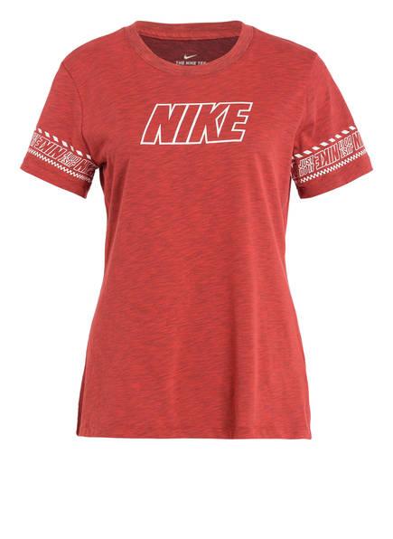 Nike T-Shirt , Farbe: ROT MELIERT (Bild 1)