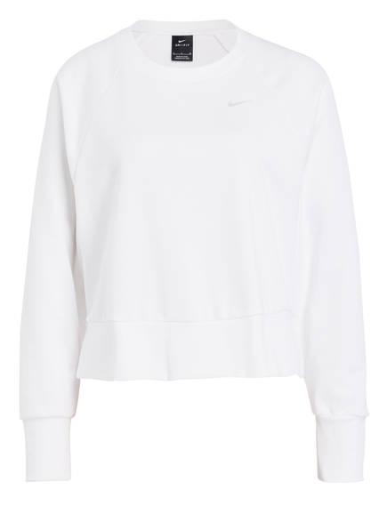 Nike Sweatshirt DRI-FIT, Farbe: WEISS (Bild 1)