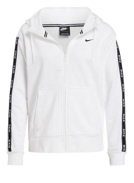 Nike Sweatjacke, Farbe: WEISS/ SCHWARZ (Bild 1)