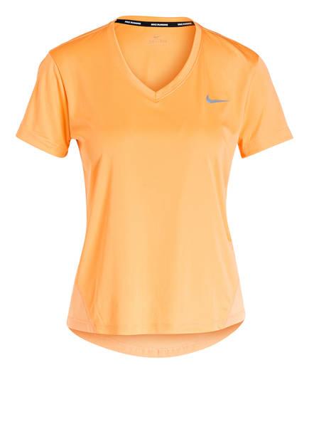 Nike Laufshirt MILER, Farbe: ORANGE (Bild 1)