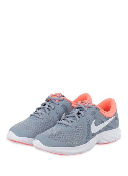 Nike Laufschuhe REVOLUTION 4, Farbe: GRAU/ ORANGE (Bild 1)