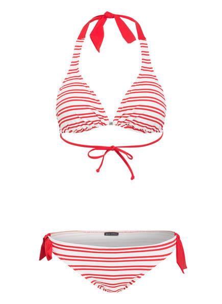 Weiss Rot bikini Marc O'polo Triangel nqZp0wA