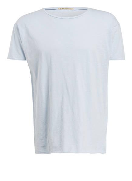 Nudie Jeans T-Shirt ROGER, Farbe: HELLBLAU (Bild 1)