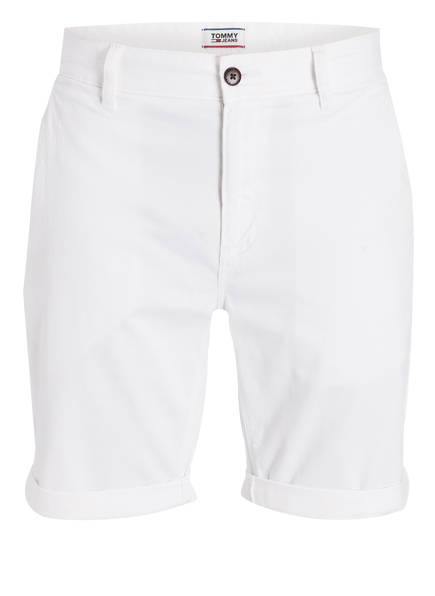 TOMMY JEANS Chino-Shorts, Farbe: WEISS (Bild 1)
