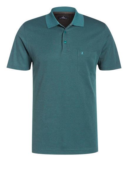 RAGMAN Poloshirt, Farbe: GRÜN/ GRAU (Bild 1)