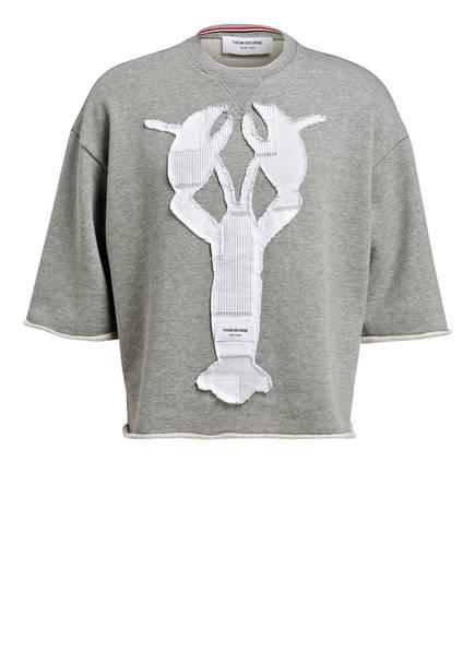 THOM BROWNE. Sweatshirt, Farbe: HELLGRAU MELIERT (Bild 1)