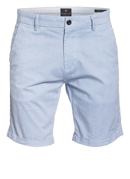 DSTREZZED Chino-Shorts, Farbe: HELLBLAU/WEISS GESTREIFT (Bild 1)