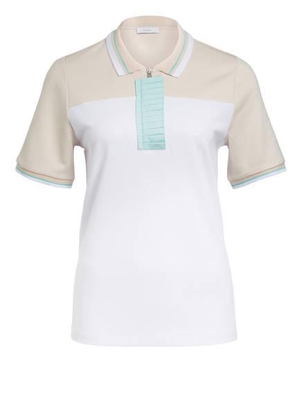RIANI Jersey-Poloshirt, Farbe: WEISS/ SAND (Bild 1)