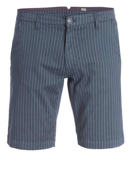 Recycled Art World Chino-Shorts Regular Fit, Farbe: DUNKELBLAU/ WEISS (Bild 1)