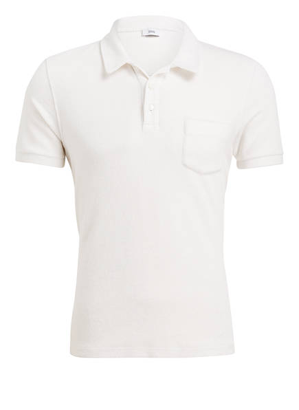 CLOSED Frottee-Poloshirt Regular Fit, Farbe: WEISS (Bild 1)