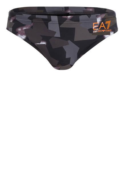 EA7 EMPORIO ARMANI Badeslip, Farbe: OLIV/ GRAU (Bild 1)