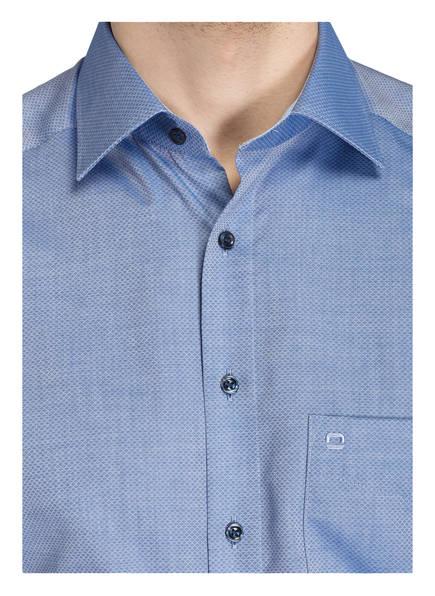 OLYMP Hemden | Olymp Halbarm-Hemd Tendenz Modern Fit blau