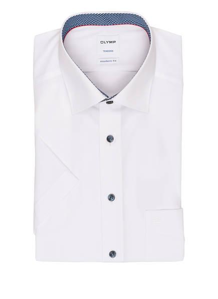 OLYMP Halbarm-Hemd Tendenz modern fit, Farbe: WEISS (Bild 1)