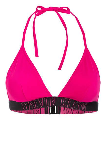 Calvin Klein Triangel-Bikini-Top INTENSE POWER, Farbe: PINK (Bild 1)
