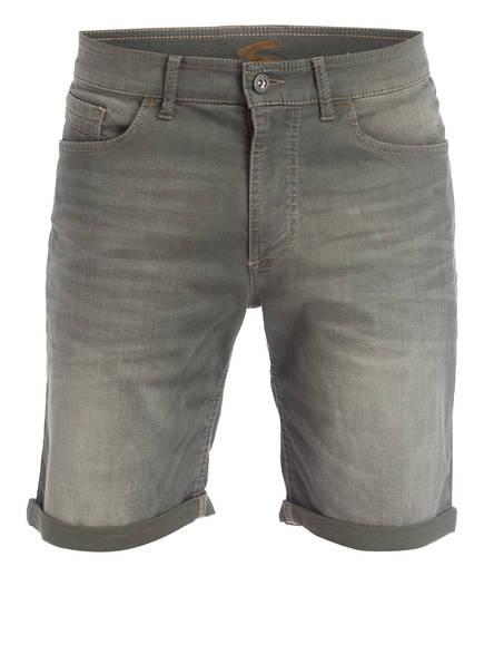 camel active Jeans-Shorts Modern Fit, Farbe: 30 OLIV (Bild 1)