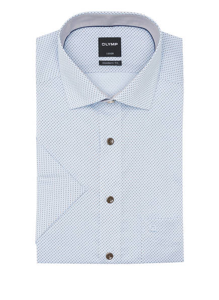 OLYMP Kurzarm-Hemd Luxor modern fit, Farbe: HELLBLAU (Bild 1)