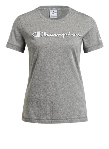 Champion T-Shirt, Farbe: GRAU MELIERT (Bild 1)