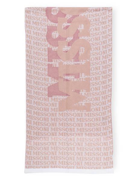 MISSONI Schal, Farbe: ROSÉ/ WEISS (Bild 1)