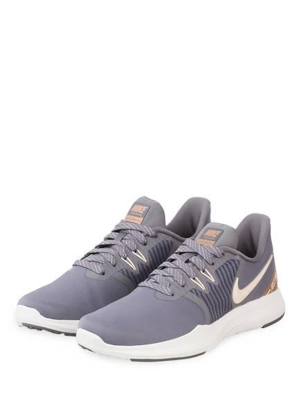 Nike Fitnessschuhe IN-SEASON TR 8 PREMIUM, Farbe: GRAU/ CREME (Bild 1)