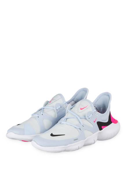 Nike Laufschuhe FREE RN 5.0, Farbe: ECRU/ HELLBLAU/ ROSA (Bild 1)