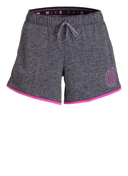 Nike Trainings-Shorts DRI-FIT, Farbe: GRAU MELIERT (Bild 1)