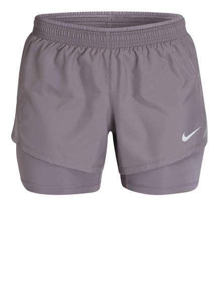 Nike 2-in-1 Laufshorts 10K, Farbe: GRAU (Bild 1)