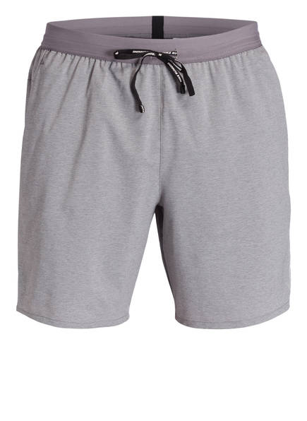Nike 2-In-1 Laufshorts Flex Stride grau