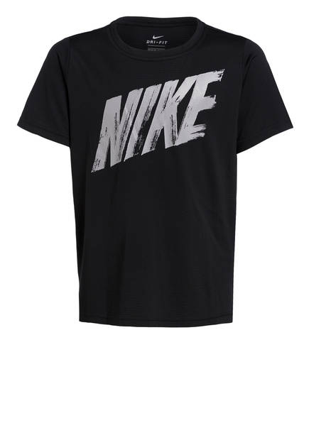 Nike T-Shirt DRI-FIT, Farbe: SCHWARZ/ GRAU (Bild 1)