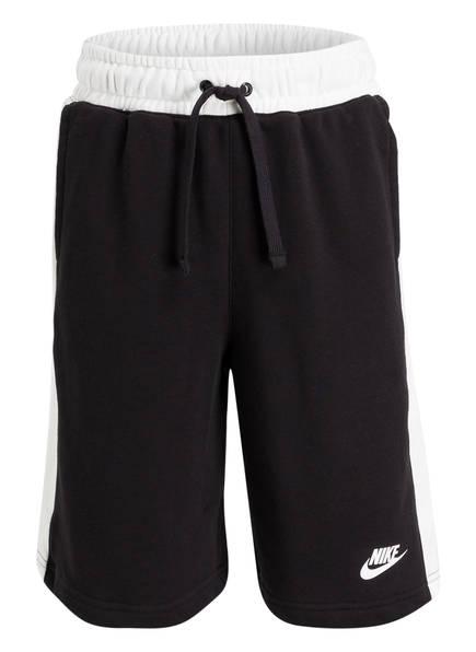 Nike Sweatshorts AIR, Farbe: SCHWARZ/ WEISS (Bild 1)