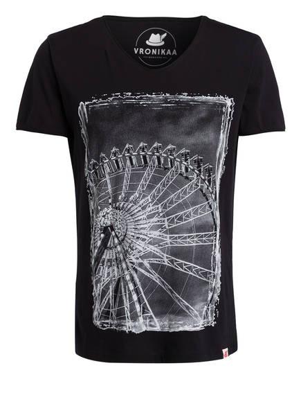 VRONIKAA T-Shirt, Farbe: SCHWARZ (Bild 1)
