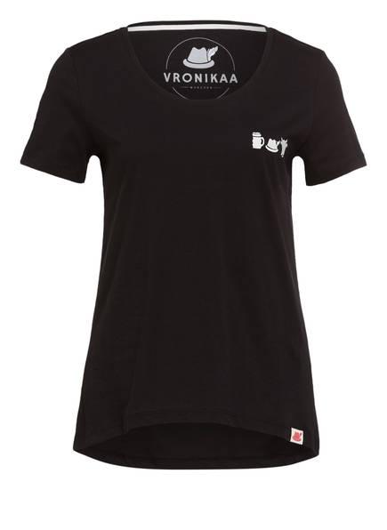 VRONIKAA T-Shirt RESI, Farbe: SCHWARZ (Bild 1)