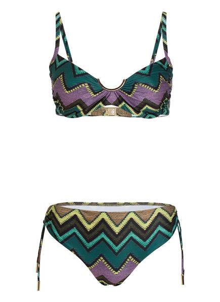 MARYAN MEHLHORN Bügel-Bikini CUBANA, Farbe: GRÜN/ LILA (Bild 1)