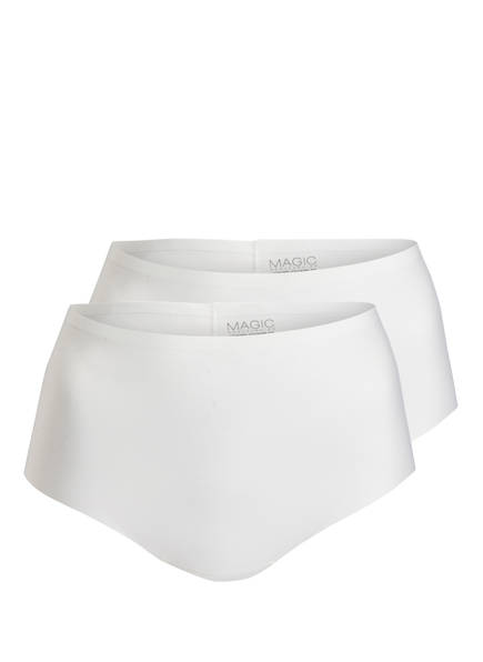 MAGIC BODYFASHION 2er-Pack Panties DREAM INVISIBLES, Farbe: WEISS (Bild 1)