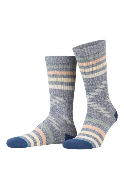 STANCE Socken HITCH HIKER, Farbe: NAVY/ GRAU (Bild 1)