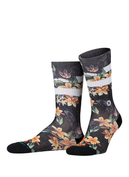 STANCE Socken NANKULUI, Farbe: SCHWARZ/ WEISS (Bild 1)