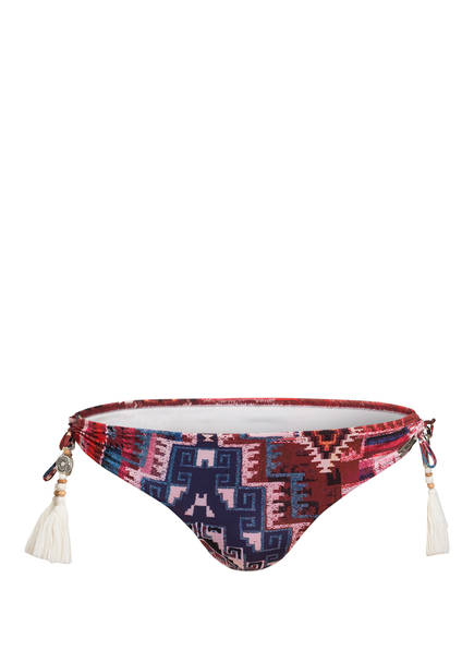 watercult Bikini-Hose ETHNO FUSION, Farbe: DUNKELROT/ BLAU (Bild 1)