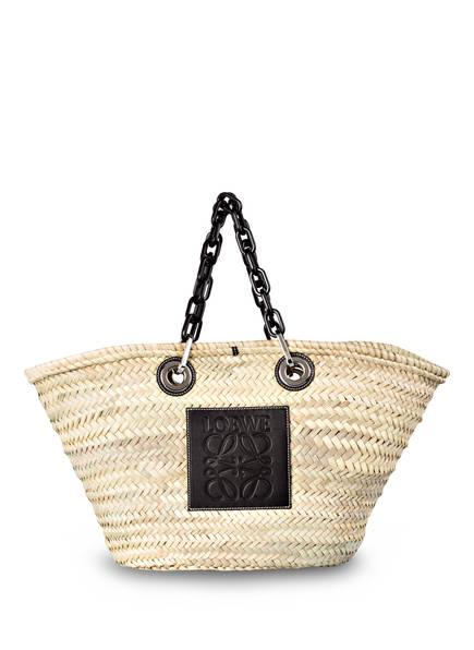 LOEWE Shopper BASKET CHAIN , Farbe: NATURAL/ BLACK (Bild 1)