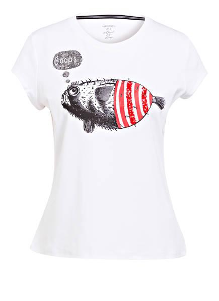 MARCCAIN T-Shirt, Farbe: 271 fire red (Bild 1)
