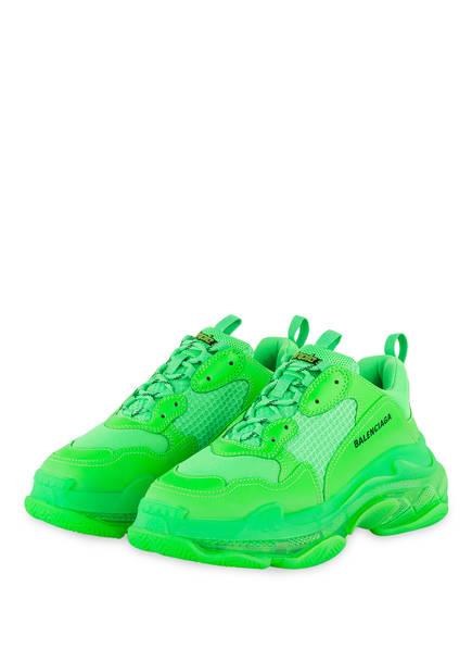 BALENCIAGA Sneaker TRIPLE S , Farbe: NEONGRÜN (Bild 1)