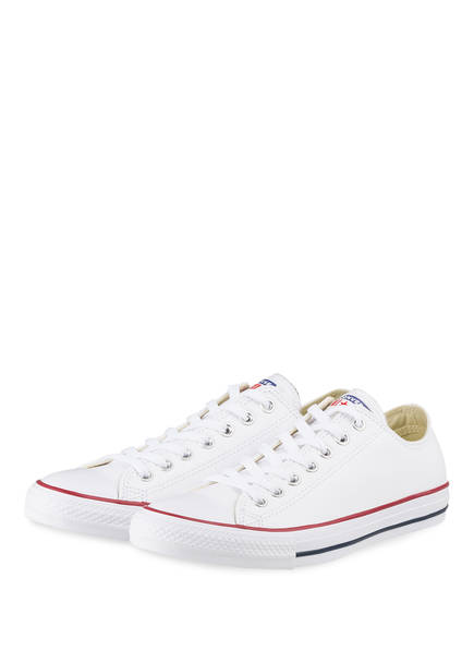 CONVERSE Sneaker CHUCK TAYLOR ALL STAR LEATHER, Farbe: WEISS (Bild 1)