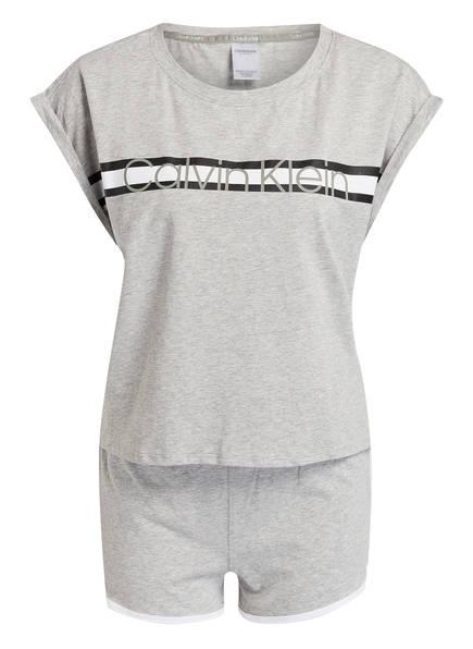 Calvin Klein Shorty-Schlafanzug, Farbe: HELLGRAU (Bild 1)