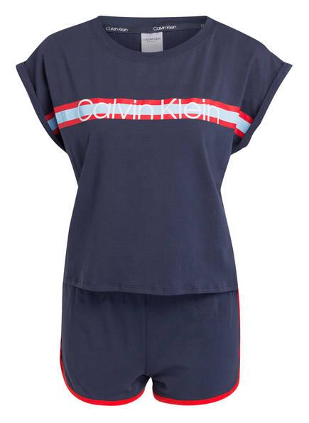 Calvin Klein Shorty-Schlafanzug, Farbe: DUNKELBLAU (Bild 1)