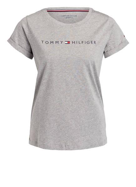 TOMMY HILFIGER Lounge-Shirt, Farbe: HELLGRAU (Bild 1)