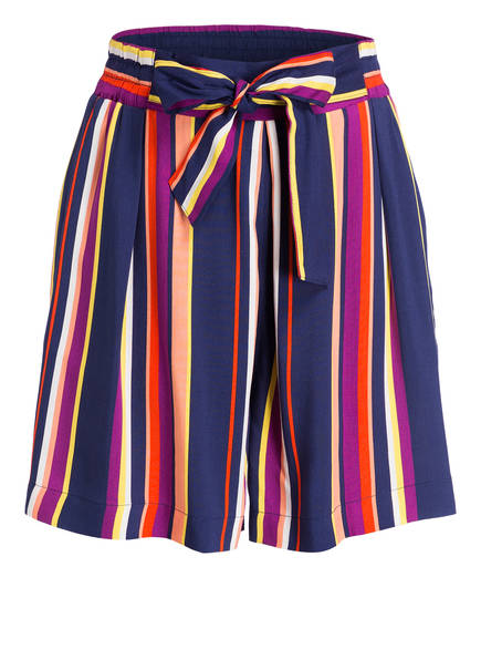 ARMEDANGELS Shorts AALLEGRA, Farbe: BLAU/ WEISS/ ORANGE (Bild 1)