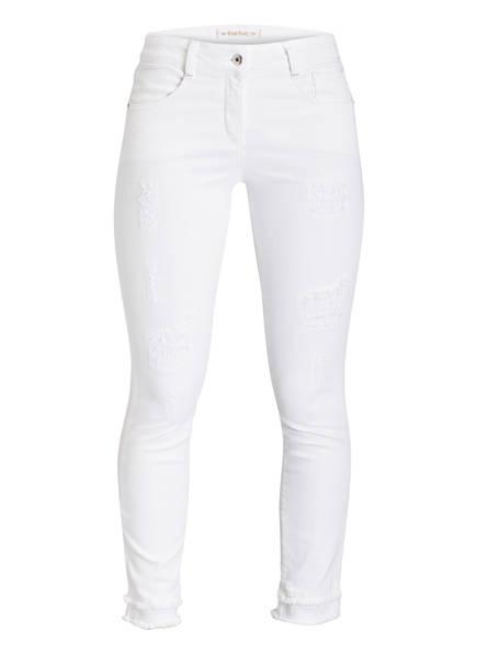 MARC AUREL Destroyed-Jeans, Farbe: WEISS (Bild 1)