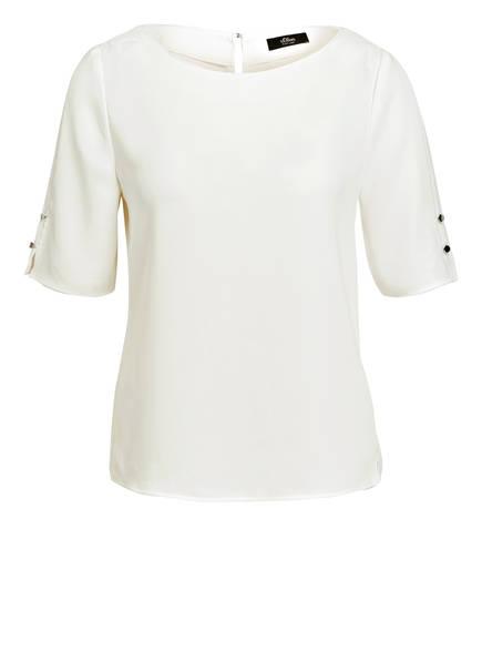 s.Oliver BLACK LABEL Blusenshirt, Farbe: CREME (Bild 1)