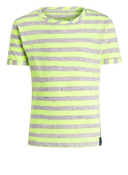TOM TAILOR T-Shirt, Farbe: GELB/ GRAU GESTREIFT (Bild 1)