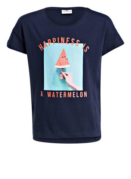 TOM TAILOR T-shirt, Farbe: DUNKELBLAU (Bild 1)